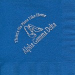 Napkin, color(discontinued), Silver Foil Shoes No Place Like Home, Alpha Gamma Delta