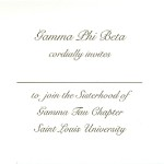 Inside message, Font #9, Gamma Phi Beta
