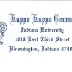 Business Stationery, Envelope, Font #19  & #10, Kappa Kappa Gamma