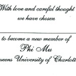 Inside message, font #8 Phi Mu