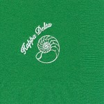 Napkin, coloro discontinuted, White Foil Shell, Font Special, Kappa Delta