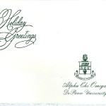 Season's Greeting, Alpha Chi Omega